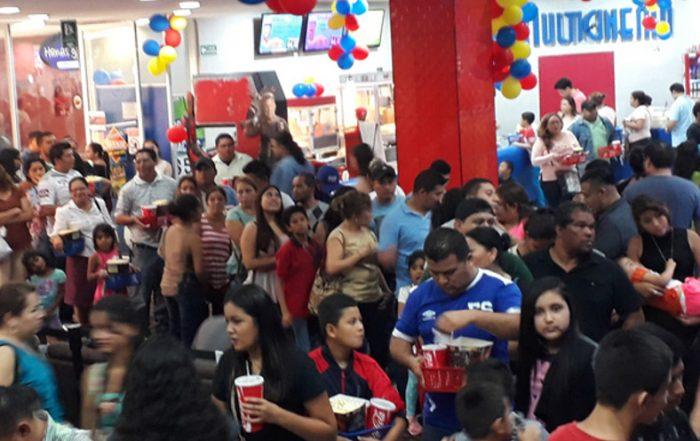 First All-Laser Cinema in El Salvador