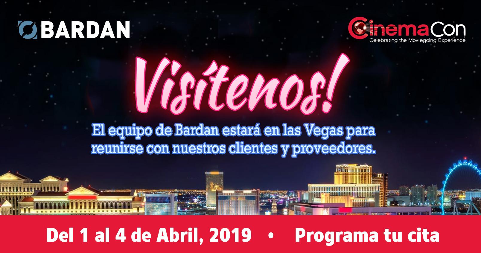 ¡Nos vemos en CinemaCon 2019!