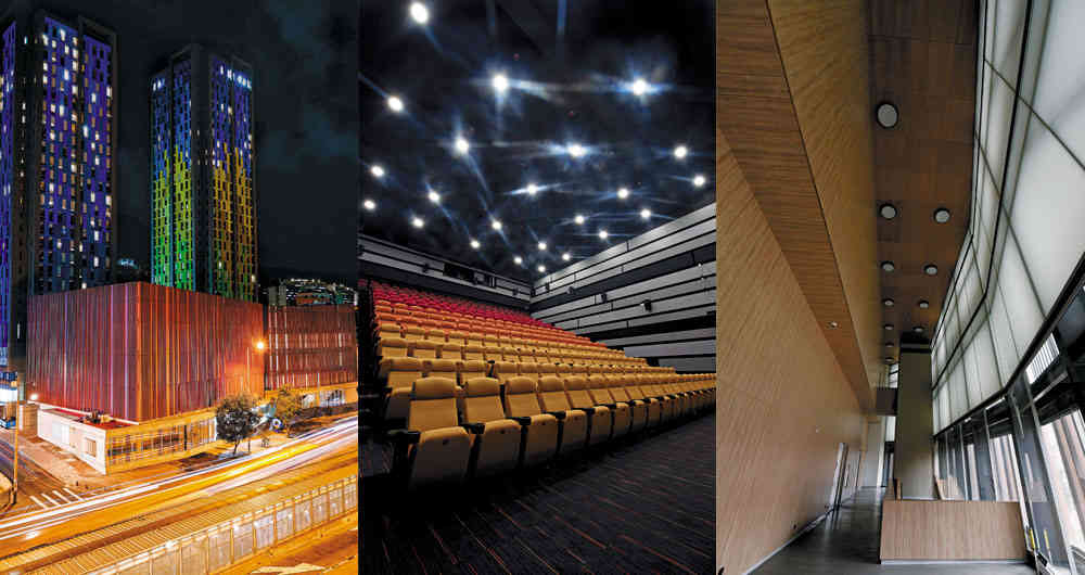 Cinemateca in Bogota has been nominated as the best A/V installation, please vote for us!