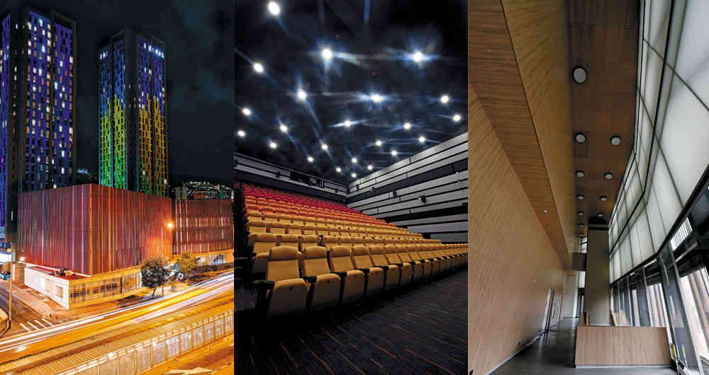 Cinemateca en Bogotá ha sido nominada como la mejor instalación de A/V, ¡vote por nosotros!