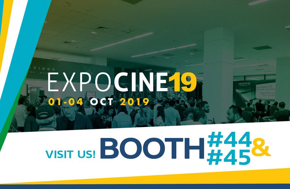 Visítenos en Expocine 2019!
