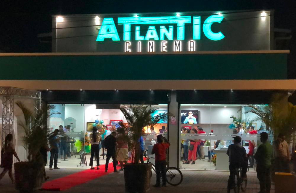 Atlantic Cinema in Guatemala Opens its Doors to the Public!