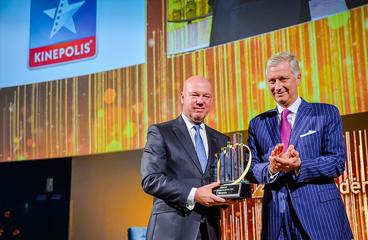 "Kinepolis Named Belgium's ""Entrepreneur of the Year 2019"" by EY"