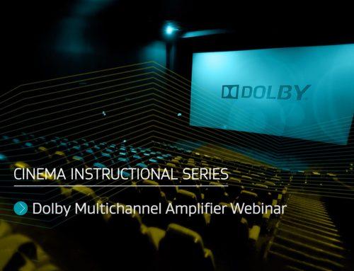 Dolby Multichannel Amplifier (DMA) Webinar: Tonight at 9pm EST