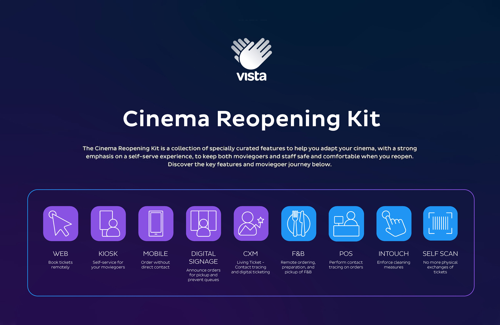 "Vista Cinema Offers ""Reopening Kit"" with Best Practices for Movie Theater Reopening"