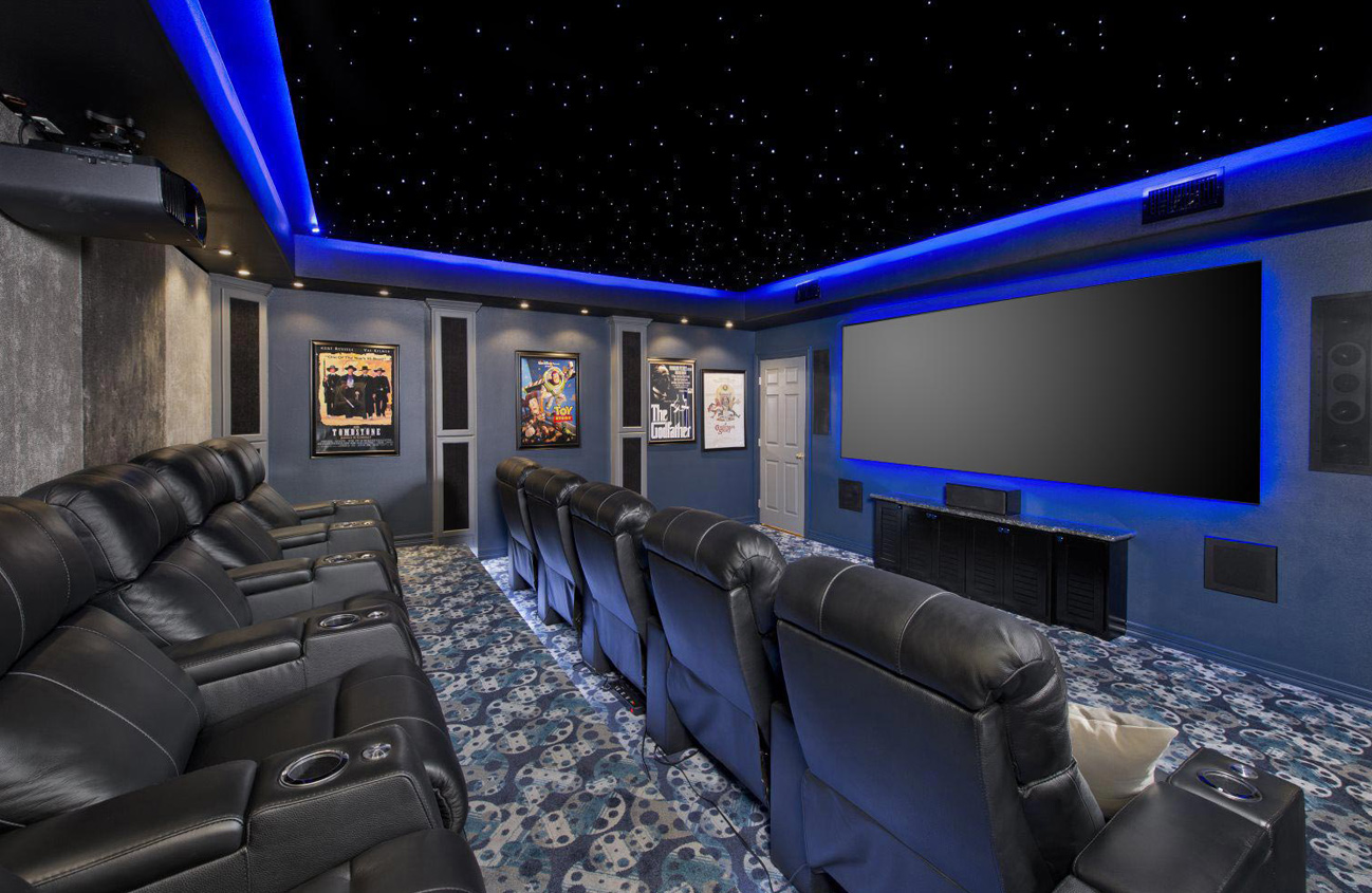 Home Theater Equipment, Installation and Design services