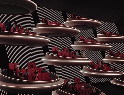 Innovative Movie Theater in Paris Resembles the Galactic Senate from Star Wars