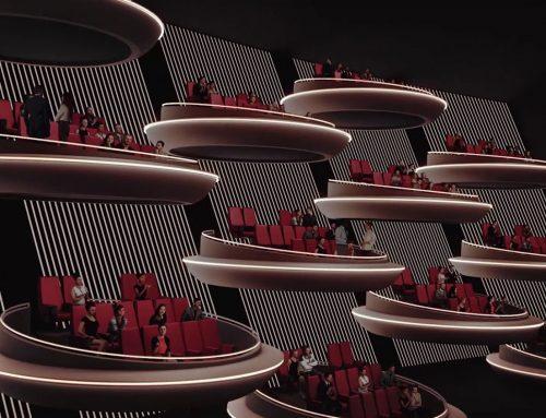 Cine innovador en París se asemeja al Senado Galáctico de Star Wars