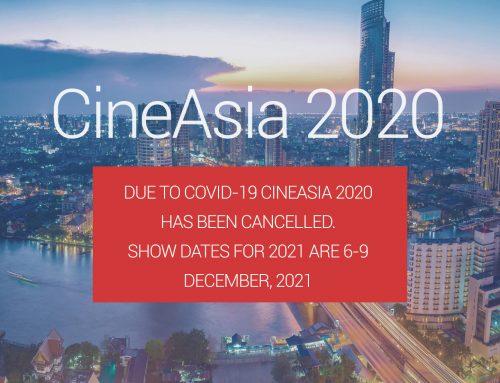 CineAsia 2020 Announcement