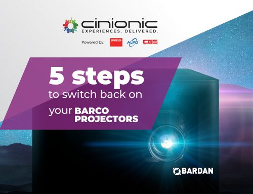 5 Steps to Switch Back on Your Barco Projectors