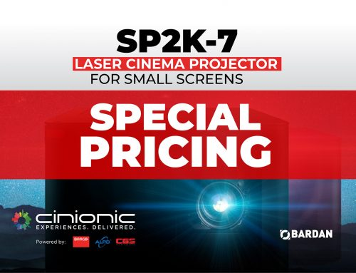 Barco SP2K-7 Projector – New Pricing Available!